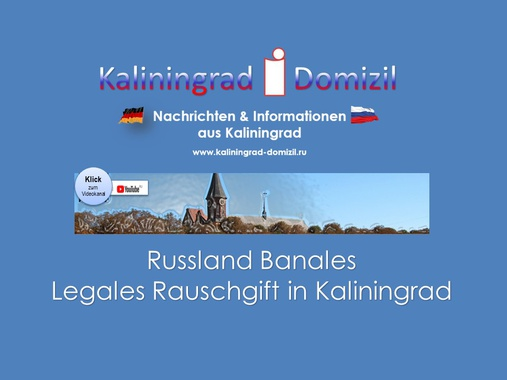 Legales Rauschgift in Russland