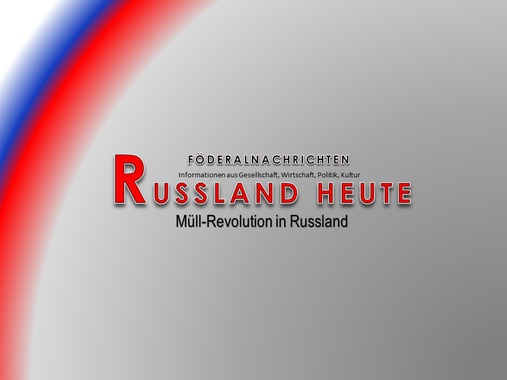 Müll-Revolution in Russland